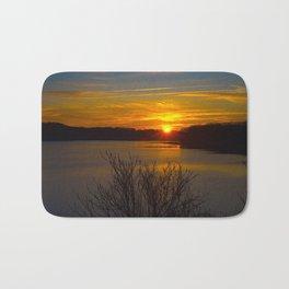 Sunrise at Little Seneca Lake Bath Mat