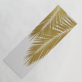 Palm Leaf Gold II Yoga Mat