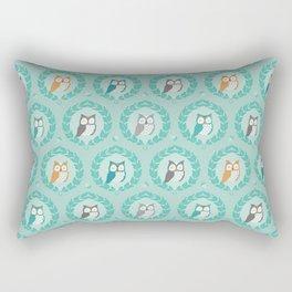 Sweet Owlies - Dusk Rectangular Pillow
