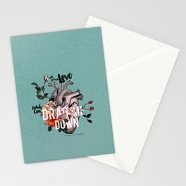 Drag Me Down Stationery Cards