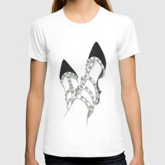 Valentino Dream White Womens Fitted Tee SMALL