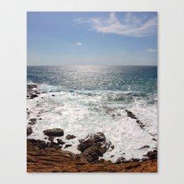 Sea and Sardinia Canvas Print