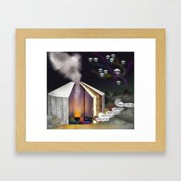 Talhaus Framed Art Print