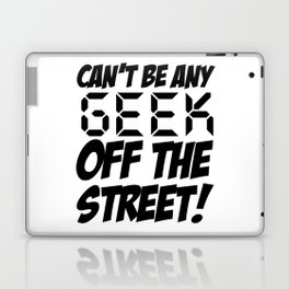 Geek off the Street Laptop & iPad Skin