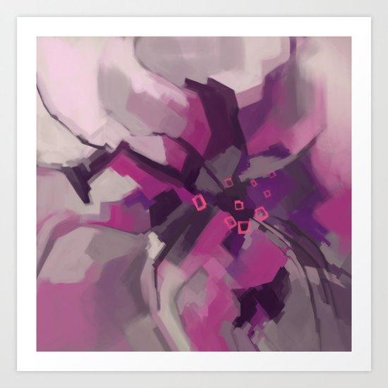 Single Lily Art Print