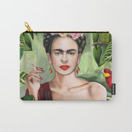 Frida con Amigos Carry-All Pouch