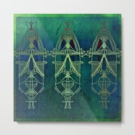 MESSENGERS OF THE EARTH Metal Print