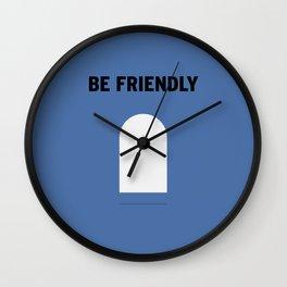 Friendly Wall Clock