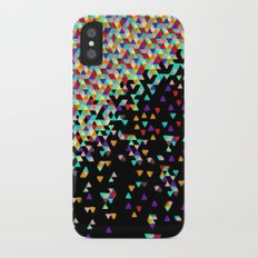 Black Funfetti iPhone X Slim Case