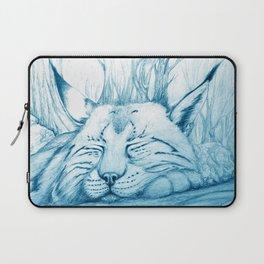 Bobcat nap Laptop Sleeve