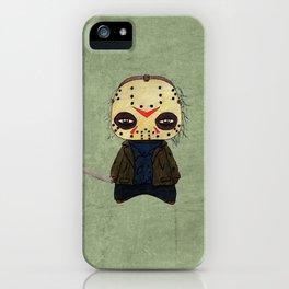 A Boy - Jason ( Friday the 13th) iPhone Case