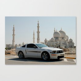 The Stang meets Sheikh Zayed Grand Mosque in Abu Dhabi Canvas Print