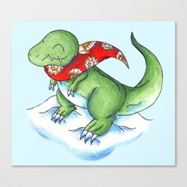 Winter Rex Canvas Print