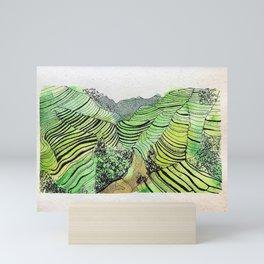 Sapa, Vietnam Mini Art Print