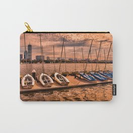 Boats at Charles River, Boston MA, USA Carry-All Pouch