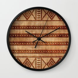-A24- African Moroccan Traditional Artwork. Wall Clock