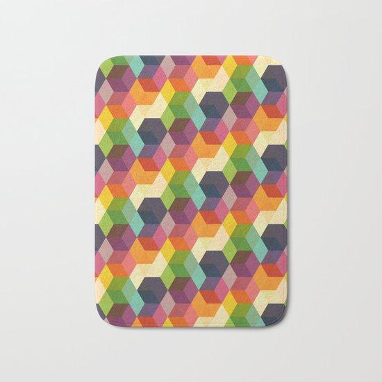Retro Hexagonzo Bath Mat