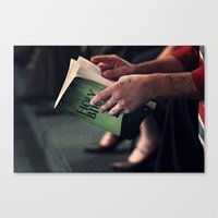 bible Canvas Prints featuring Bible by Hannahs Photography
