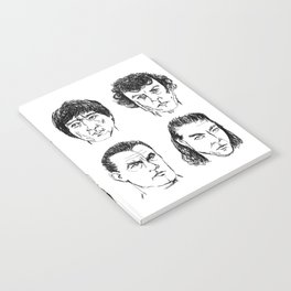 80s Action Stars Notebook