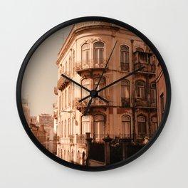 Lissabon Love Wall Clock