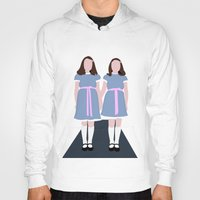 the shining Hoodies featuring Shining Twins by Alberto P