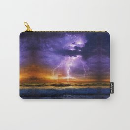 Illusionary Lightning Carry-All Pouch