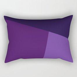 dégradé trapèze mauve Rectangular Pillow