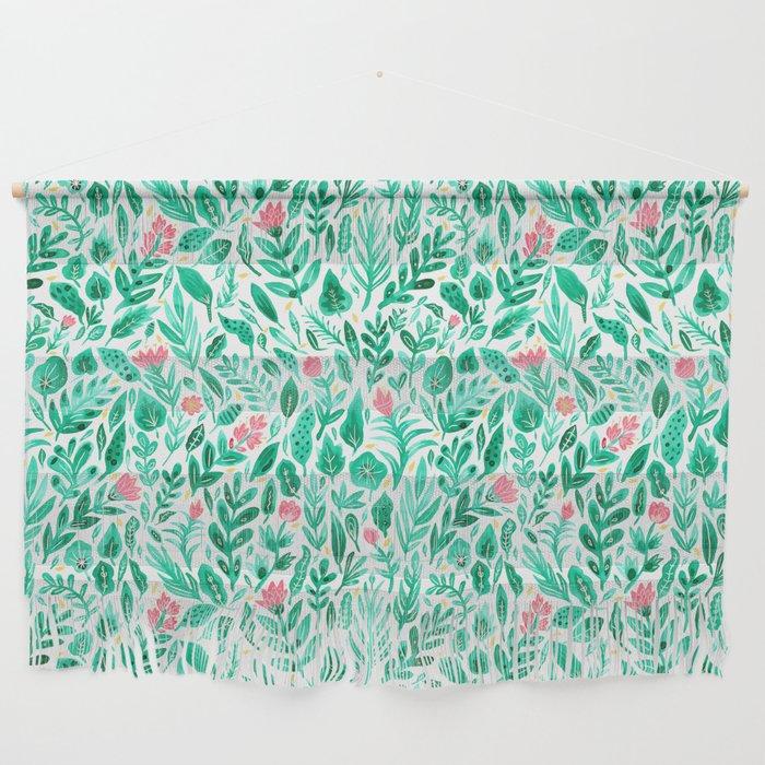 June Blooms Wall Hanging