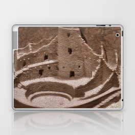The Cliff Dwellers - Legends Of America Laptop & iPad Skin