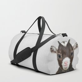 Baby Goat - Colorful Duffle Bag