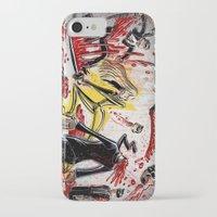 kill bill iPhone & iPod Cases featuring Kill Bill by Joe Badon
