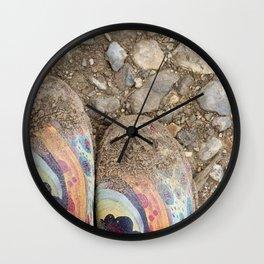 Beach Boots Wall Clock