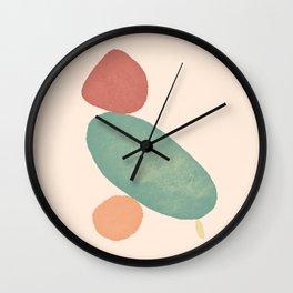Balancing Act II Wall Clock