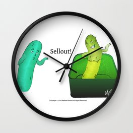 Soaking in Awesome (The Sellout) Wall Clock