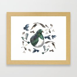 Bird Bonanza Framed Art Print