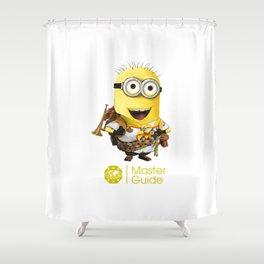 MasterGuide Minion Shower Curtain