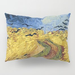 Wheatfield with Crows by Vincent van Gogh Pillow Sham