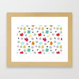 Volley Allstars! Framed Art Print