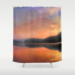 Morning Solitude Shower Curtain
