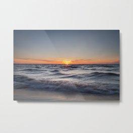 Lake Michigan Sunset Metal Print