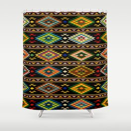 American Indian seamless pattern Shower Curtain