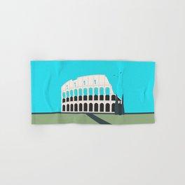 Rome, Italy Colosseum Landscape / Roma Il Colosseo, Italia Hand & Bath Towel