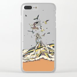 WALK ON THE OCEAN Clear iPhone Case