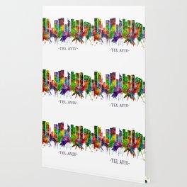 Tel Aviv Israel Skyline Wallpaper