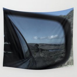 Rearview Landscape Wall Tapestry