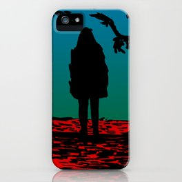 Black Riding Hood iPhone Case