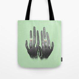 Sliced N Diced (Green) Tote Bag
