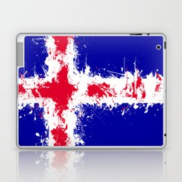 in to the sky, iceland Laptop & iPad Skin