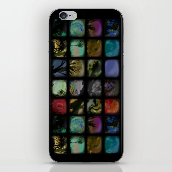 Boxed In iPhone & iPod Skin
