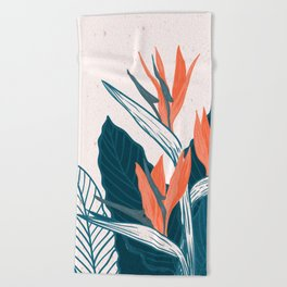Flowers -a8 Beach Towel